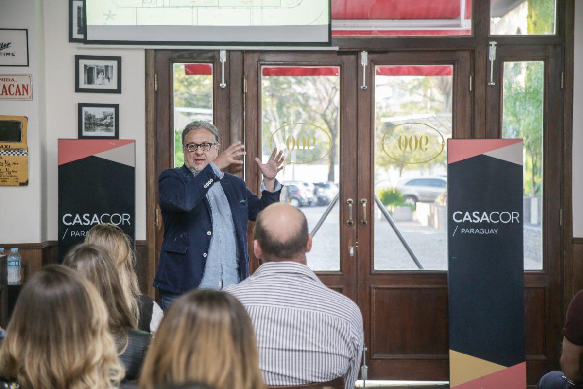 Primera reunión con profesionales CASACOR 2019