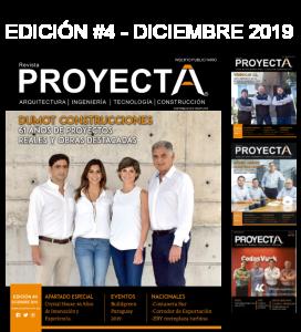 Portadas Revista Proyecta Paraguay
